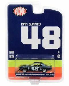 Dan Gurney's #48 1970 Plymouth Trans Am Cuda