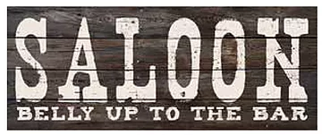 Faux wood sign 20