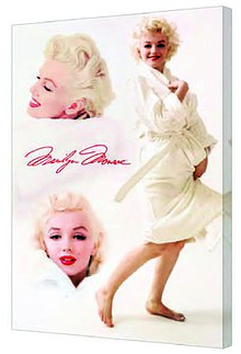 Canvas 24x36 Marilyn Monroe Robe