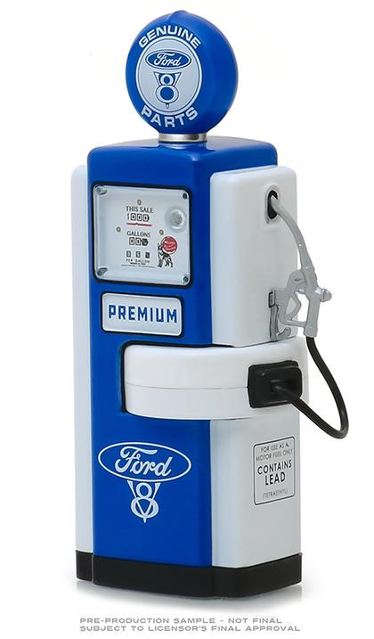 Ford V8 Genuine Parts - 1948 Wayne 100-A Gas Pump