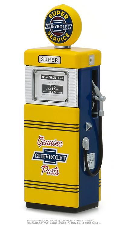 Chevrolet Super Service - 1951 Wayne 505 Gas Pump
