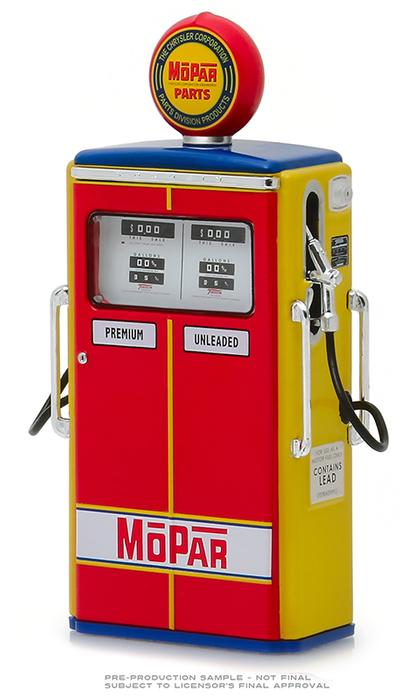 MOPAR Parts/The Chrysler Corporation Parts Division Products - 1954 Tokheim 350 Twin Gas Pump