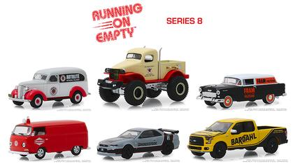 Running on Empty Series 8 1:64 Set