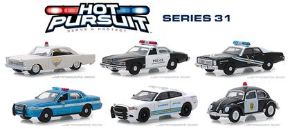 Hot Pursuit Series 31 1:64 Set