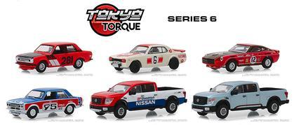 Tokyo Torque Series 6 1:64 Set