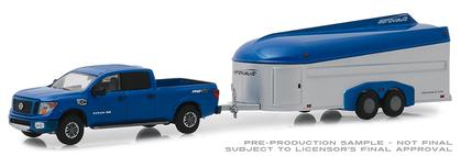 2018 Nissan Titan XD Pro-4X and Aerovault MKII Trailer  Hitch and Tow Series 17