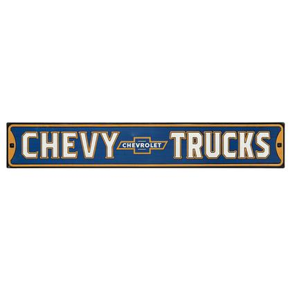 FLIGHT INSTRUCTOR EMBOSSED CHEVY TRUCK HIGH-GLOSS EMBOSSED TIN STREET SIGN 30x5TIN SIGN