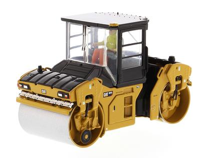 Caterpillar CB-13 Tandem Vibratory Roller with Cab - High Line Series