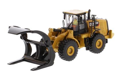 Caterpillar 972M Wheel Loader with Log Fork - High Line Series