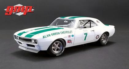 Chevrolet Camaro Z/28 1967 Alan Green #7 Gary Gove/Donohue