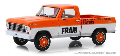 Ford F-100 Pickup 1967 FRAM Oil Filters Running on Empty Series
