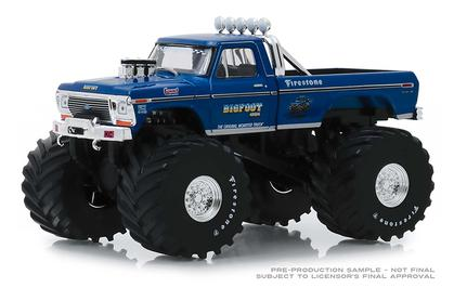 Ford F-250 1974 with 66-Inch Tires Bigfoot #1 The Original Monster Truck Kings of Crunch Series