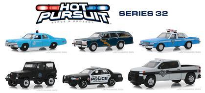 Hot Pursuit Series 32 1:64 Set