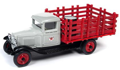 Chevrolet Stake Truck 1930 Texaco with Diorama - #12 USA Series