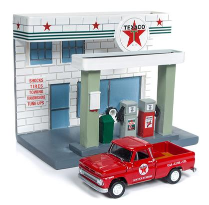Chevrolet Pickup 1965 & Diorama Texaco