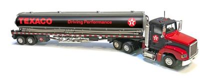 Gasoline Tanker Truck