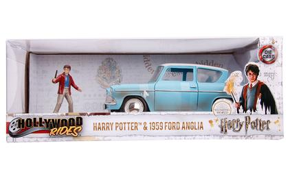 Ford Anglia 1959 with Harry Potter Figure