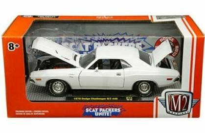 Dodge Challenger R/T 440 1970 Scat Packers Unite