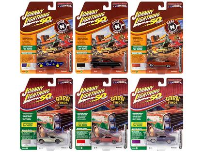 Johnny Lightning Muscle Cars 2019 Release 2A 1/64 Set