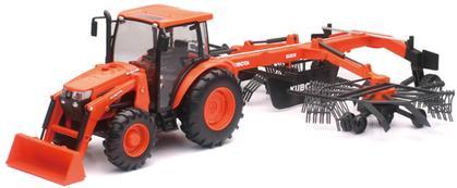 Kubota M5-111 Tractor with Hay Rake RA2076