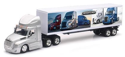 Freightliner Cascadia Tractor with Dry Van Trailer