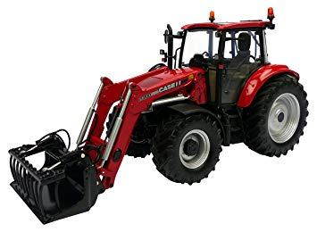 Case IH Farmall 115 U with Front Loader