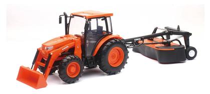Kubota M5-111 Tractor with Disc Mower