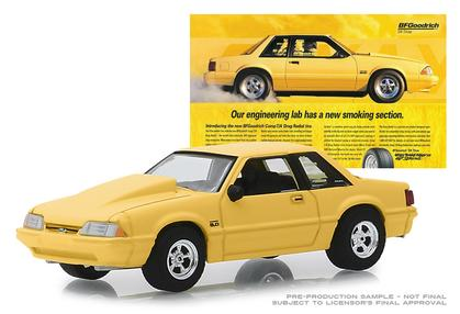 1988 Ford Mustang 5.0 - Our Engineering Lab Has A New Smoking Section - BFGoodrich Vintage Ad Cars
