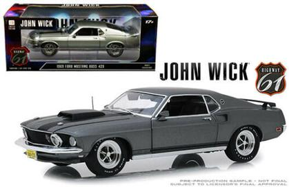 Ford Mustang Boss 429 1969 John Wick (Jan 20)