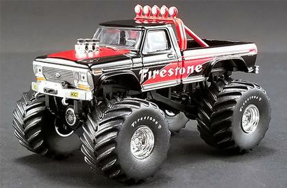 Ford F-250 1974 Monster Truck Firestone