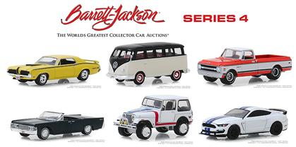 Barrett-Jackson 'Scottsdale Edition' Series 4 Set