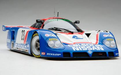 Nissan R89C 1989 Le Mans 24 Hours, driven by Hasemi/Hoshino/Suzuki Works Nissan