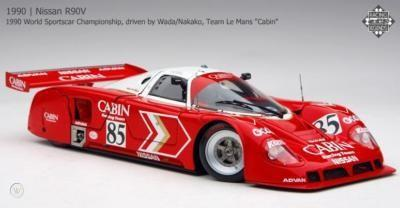 NISSAN R89C 1990 World Sportscar Championship, driven by Wada/Nakako, Team Le Mans