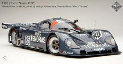 NISSAN R89C 1990 Le Mans 24 Hours, driven by Wada/Olofsson/Sala, Team Le Mans