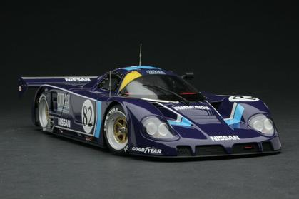 NISSAN R89C 1990 Le Mans 24 Hours, driven by Cudini/Regout/Los, Team Courage
