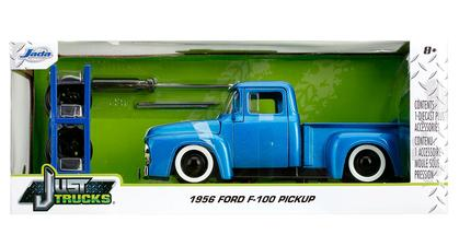 Ford F-100 Pickup 1956 (with Extra Wheels)