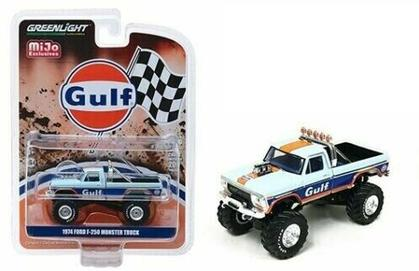 BIGFOOT GULF 1974 FORD F-250 MONSTER TRUCK