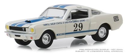 1965 Shelby GT350 #29 Carroll Shelby School of High Performance Driving