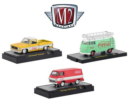 M2 Coca-Cola Release A01 (Set of 3)