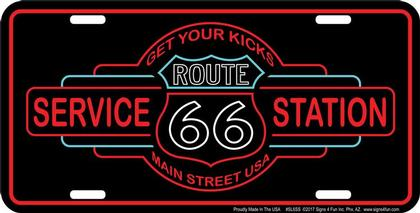 SERVICE STATION ROUTE 66