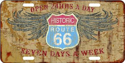 Route 66 24 Hours a day