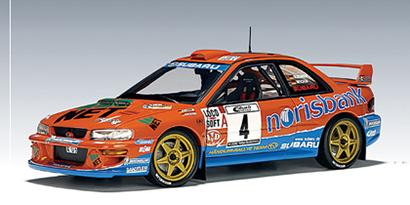Subaru Impreza WRC 2000 Kremer/Wicha German Team #4