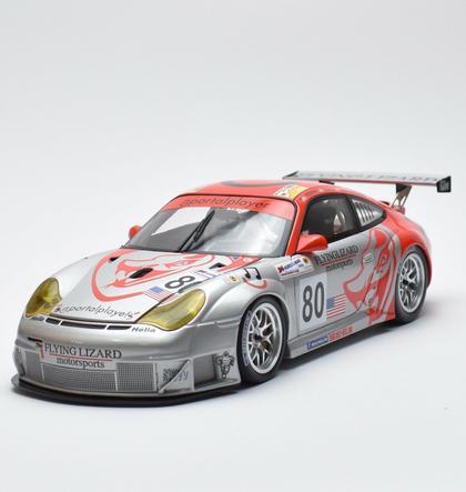 Porsche 911 GT3 RSR 24H Le Mans 2006 Neiman/Long/Van Overbeek