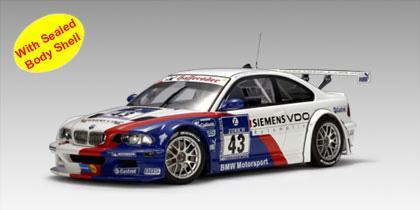 BMW M3 GTR #43 24 HRS Nurburgring 2004