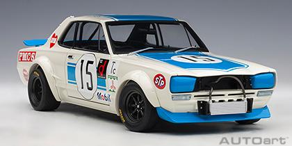 NISSAN SKYLINE GT-R (KPGC-10) RACING 1972 TAKAHASHI #15 FUJI 300KM SPEED RACE WINNER