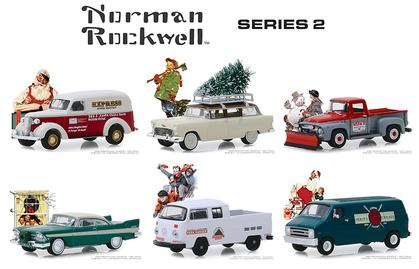 Norman Rockwell Series 2 Set
