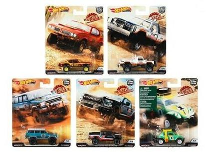 1/64 HOT WHEELS CAR CULTURE DESERT RALLY Overland