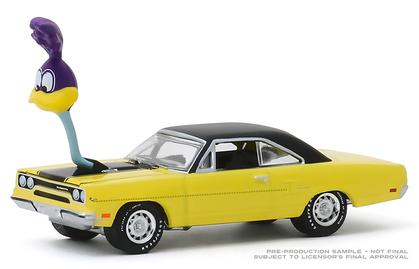 1/64 Plymouth Road Runner 1970 with The Loved Bird Air Grabber Figure