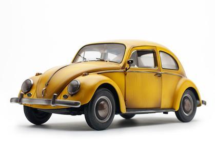 Volkswagen Beetle Saloon 1961 (rusty & dirty)