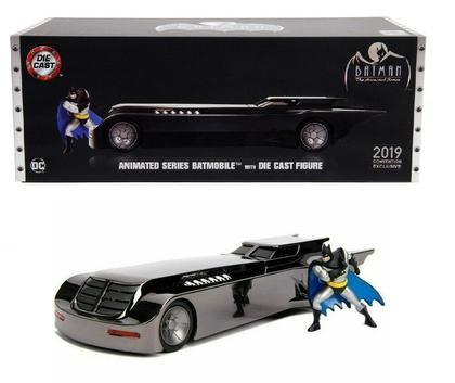 Comic Con Animated Series Batmobile & Batman Figure Chrome